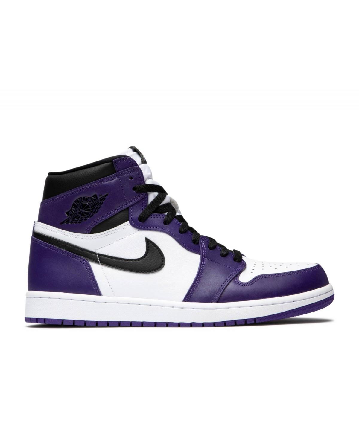 Air Jordan 1 Court Purple I 555088-500 I Royaume-Uni