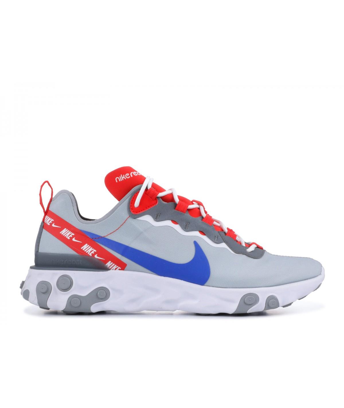 Nike React 55 Gris I Chaussure Authentique I Livraison Guadeloupe